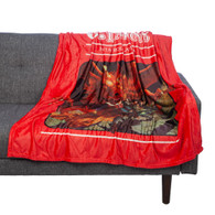 Dungeons & Dragons Fantasy Role Playing Game Digital Throw Blanket
