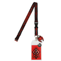 Marvel Miles Morales Spider-Man Lanyard with ID Badge Holder & PVC Spider Charm