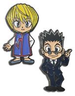 Hunter x Hunter: Kurapika & Leorio Enamel Pins Set of 2