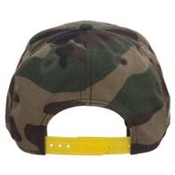 Jurassic Park Camo Pre-Curved Snapback Cap Hat