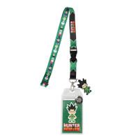 Hunter x Hunter Chibi Group Lanyard with ID Badge Holder & Gon Charm