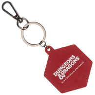 Dungeons & Dragons D20 Dice Keychain