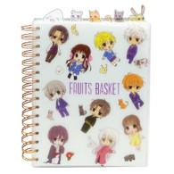 Fruits Basket Anime Chibi Characters Tabbed Notebook