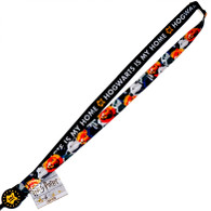 Harry Potter: Hogwarts Lanyard with Retractable Card ID Badge Holder