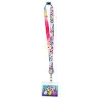 My Little Pony Lanyard with Retractable ID Badge Card Holder