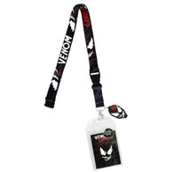 Marvel Venom & Carnage Lanyard with ID Badge Holder & Charm
