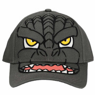 Godzilla Character Embroidered Adjustable Cap Hat