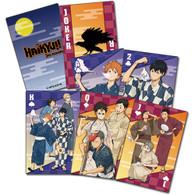 Haikyu!! Anime Yukata Group Playing Cards