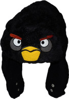 Angry Birds: Black Bird Bomber Faux Fur Trapper Hat