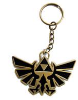 The Legend of Zelda Twilight Princess: Metal Trifoce Symbol Key Chain