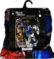 Black Butler Book of Circus Ciel & Sebastian Sublimation Throw Blanket