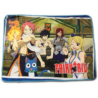 Fairy Tail: Group in a Bar Sublimation Throw Blanket