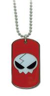 Gurren Lagann: Yoko Skull Icon Dog Tag Necklace