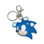 Sonic The Hedgehog: Angry Sonic Head PVC Keychain