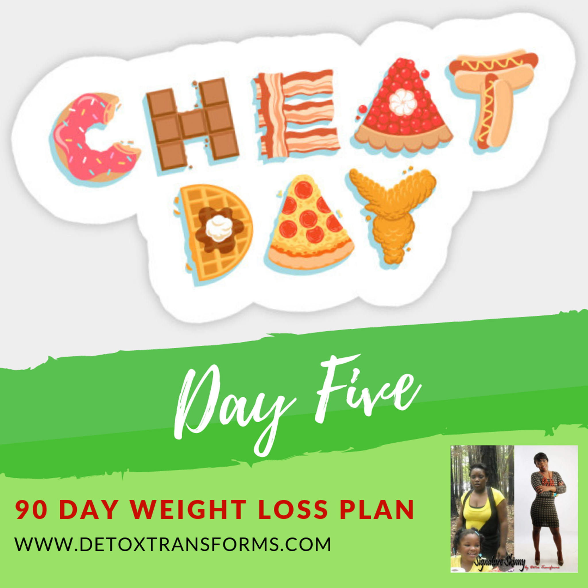 Weight Loss Challenge Day 5