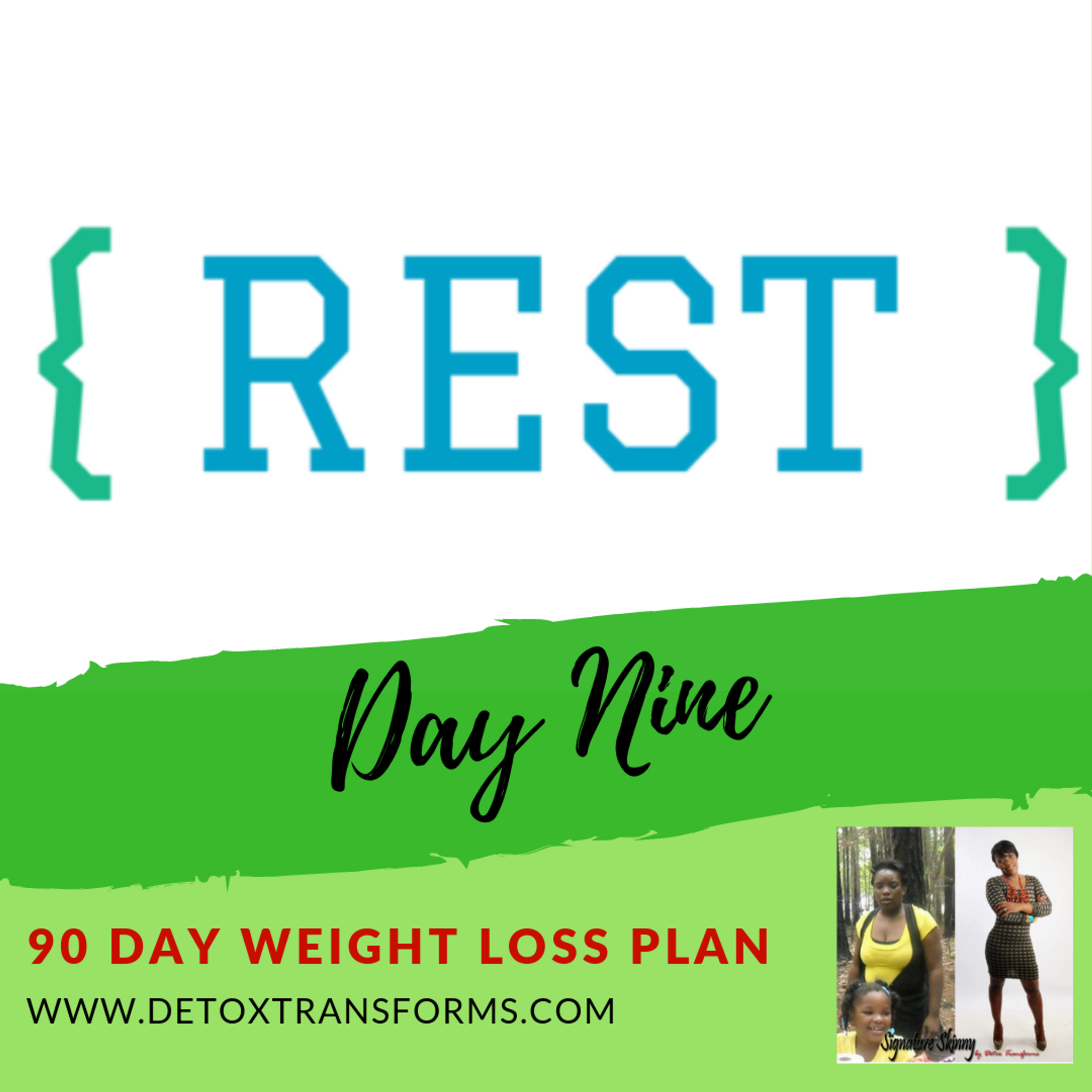 Weight Loss Challenge Day 9