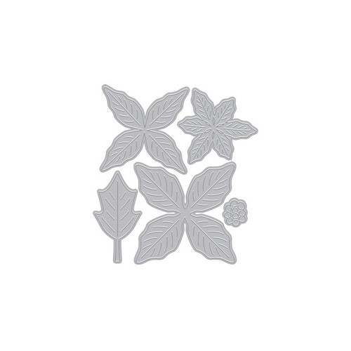 Paper Layering Poinsettia