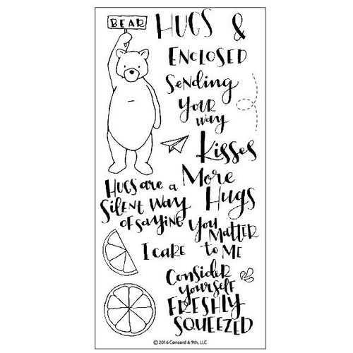 Hugs Stamp Set by Concord & 9th