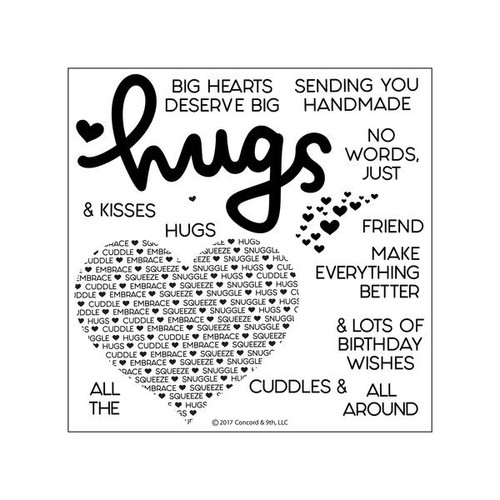 Cuddles & Hugs Stamp by Concord & 9th