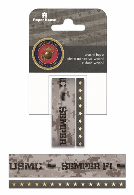 Semper Fi  Washi Tape by Paper House Productions