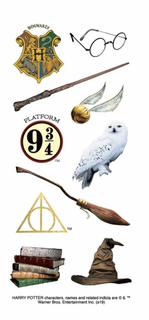 """Harry Potter 2"""" Icon Stickers by Paper House Productions"""