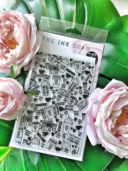 Mug Life Background Stamp Set - The Ink Road