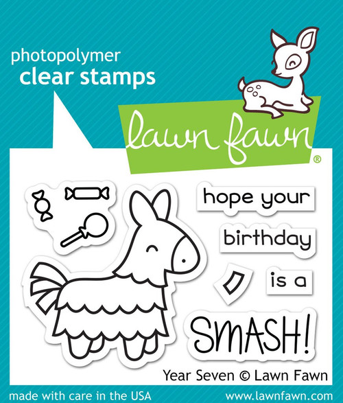 Year Seven Stamp Set - Lawn Fawn
