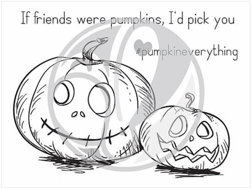 Pumpkin Friends by The Rabbit Hole Designs