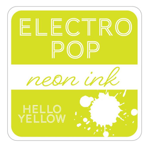 Hello Yellow Electro Pop Ink Pad by Gina K Designs (Rina K)