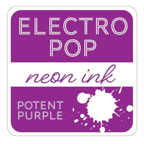Potent Purple Electro Pop Ink Pad by Gina K Designs (Rina K)