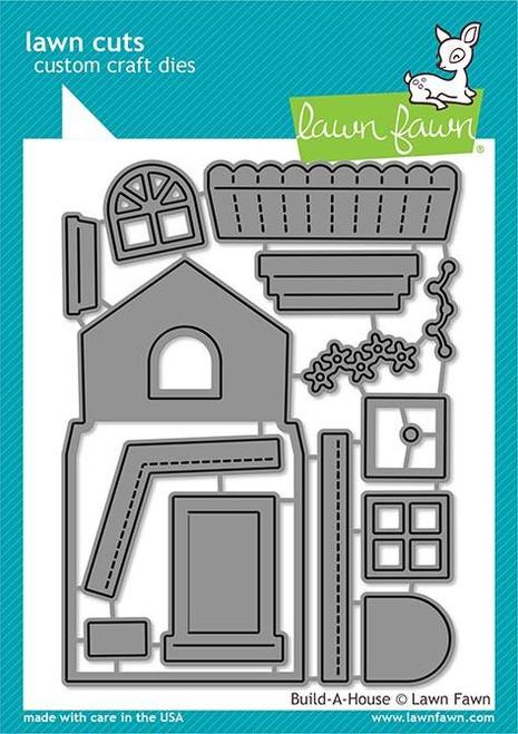 Build -A-House Die - Lawn Cuts - Lawn Fawn