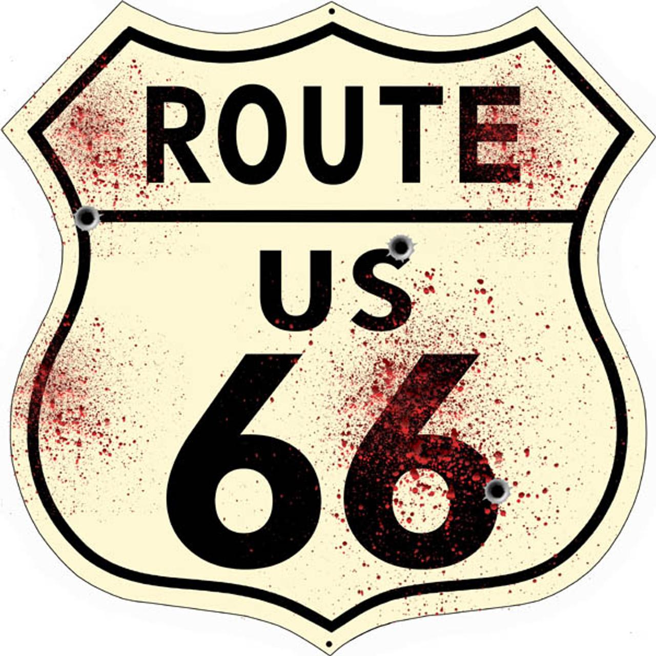 WILLIAMS ARIZONA Route 66 Shield Metal Sign Man Cave Garage 211110013018