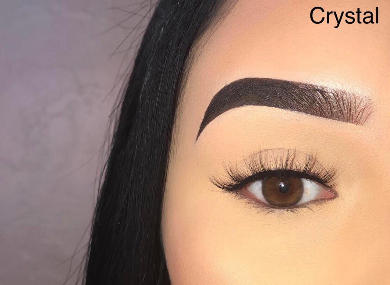 5b51684e2c2 3D MINK LASHES: CRYSTAL - Diamond Dynasty Virgin Hair