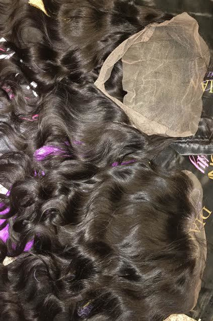 360 Lace Frontal hair from Diamond Dynasty Virgin Hair. Our 360 frontals  are adjustable and 5ebca2a4bea4