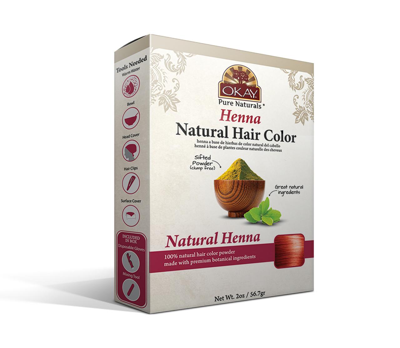 Herbal Henna Hair Color Natural Henna Natural Hair Coloring