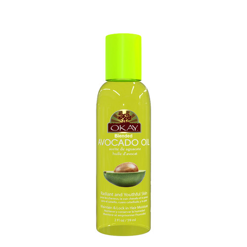 Avocado Blended Oil for Hair & Skin- Excellent For Moisturizing Dry, Brittle & Damaged Hair -Helps Hair & Skin Lock In Moisture -For All Hair Textures And All Skin Types- Paraben Free - Made in USA   2oz / 59ml