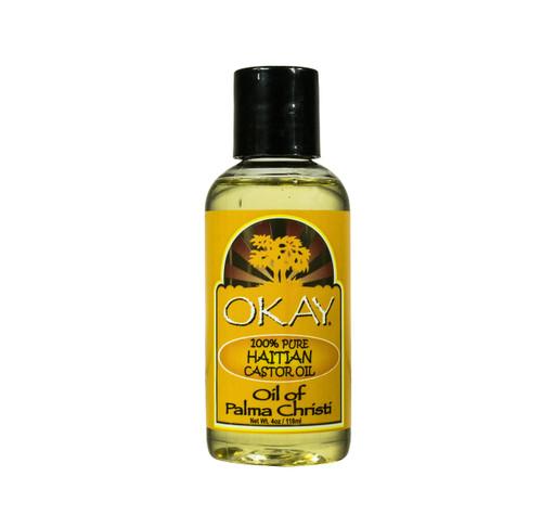 Haitian Castor Oil - Helps Soothe Scalp & Skin, Helps Naturally Grow Strong Healthy Hair, Helps Balance Oily Hair, Stimulate Hair Follicles - For all Hair Types- Made in USA- 4oz / 118ml