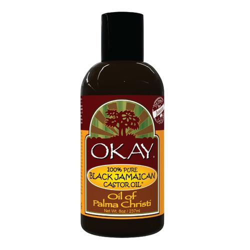 Black Jamaican Castor Oil - Helps Soothe Scalp & Skin, Helps Naturally Grow Strong Healthy Hair, Helps Balance Oily Hair, Stimulate Hair Follicles - For all Hair Types- Made in USA- 8oz / 237ml