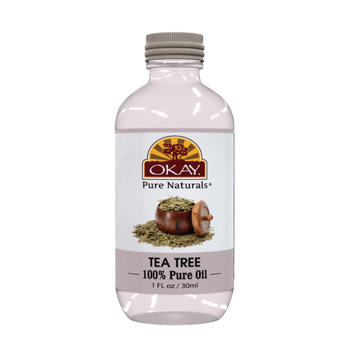Tea Tree Oil 100% Pure for Hair, Skin, & Scalp- Anti Dandruff, Relieves Itchy Scalp, Treats Cradle Cap,Lice, Acne Treatment, Athlete's Foot & More -For All Hair Textures And All Skin Types-Silicone, Paraben Free - Made in USA  1oz / 30ml