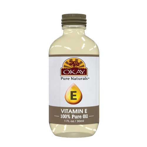 Vitamin E Oil 100% Pure for Hair & Skin-Great Moisturizer-For All Hair Textures And All Skin Types -Adds Glow & Life To Skin & Hair-Helps Grow & Repair Damaged Dry Hair -Silicone, Paraben Free - Made in USA 1oz / 30ml