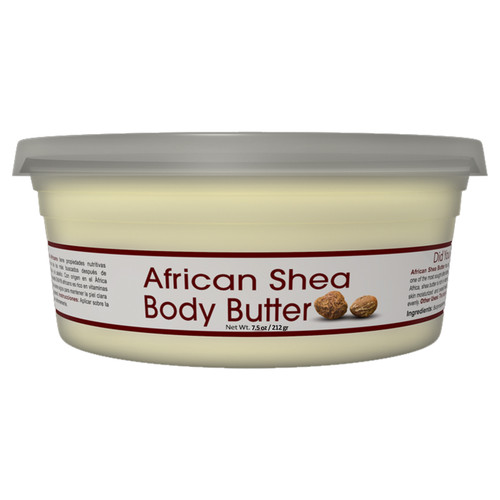 Shea Butter White Smooth - All Natural, 100% Pure- Refined- Daily Skin Moisturizer For Face & Body-  Softens Tough Skin- Moisturizes Dry Skin- Adds Shine & Luster To Hair-Alleviates Scalp Dryness  7.5oz / 212gr