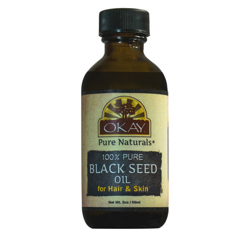 Black Seed Oil  - For All Hair Textures And All Skin Types-Nutrient Rich Oil  -Packed With Many Hair & Skin Benefits - Keeps Hair & Skin Healthy, Soft And Moisturized - Silicone, Paraben Free - Made in USA2 oz
