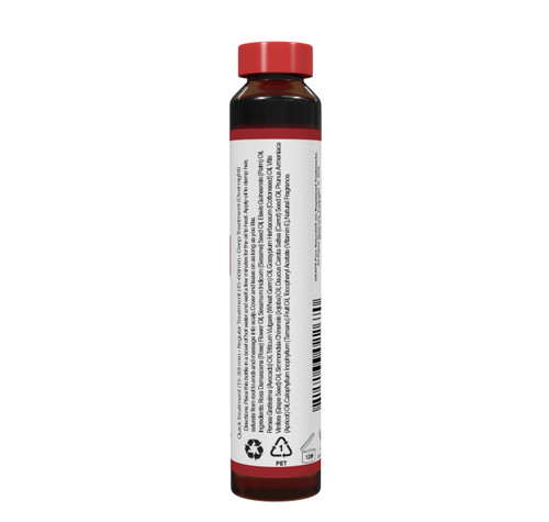 OKAY Rose Shine Treatment - Restore And Smooth Hair - Soft, Smooth, Enhanced Shine And Strong Hair - Created With 12 Natural Oils  - No Parabens, No Silicones, No Artificial Colors - For All Hair Types And Textures  - Made in USA 0.6 oz/18 ml