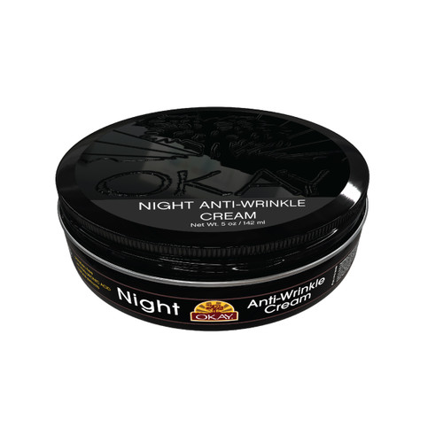 Night Anti-Wrinkle Cream - For Anti Aging, Smooth, Hydrated, Supple & Soft, Replenishing, Youthful Skin - Silicone, Paraben Free For All Skin Types - Made In USA 5 oz