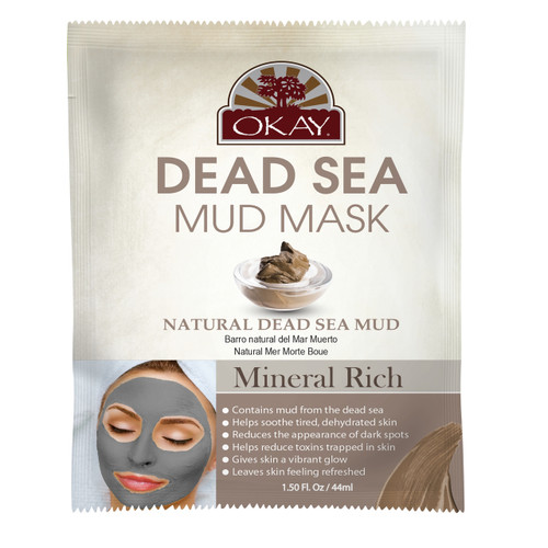 Dead Sea Mud Natural Dead Sea Mud -Improves Appearance Of Skin- Helps Minimize Pores-Deeply Hydrates Skin- Reduces Look Of Fine Lines & Wrinkles -  Nourishes & Replenishes- Promotes Healthy Skin- Made In USA  1.50 fl.oz /44ml