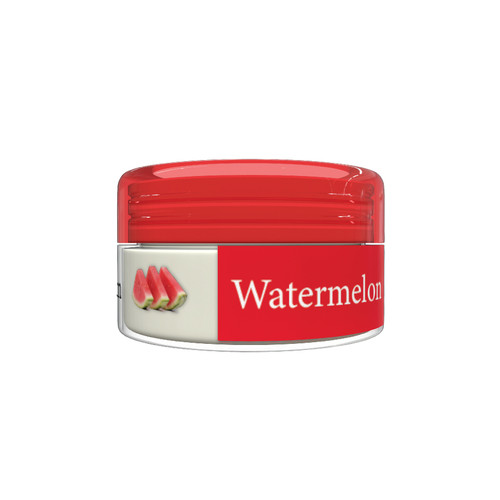 Organic Flavor Lip Balm Jar - Watermelon- Formulated With Organic Ingredients - Helps Moisturize, Soothe, And Protect Lips-Silicone, Paraben Free For All Skin Types - Made in USA 0.16oz/5gr