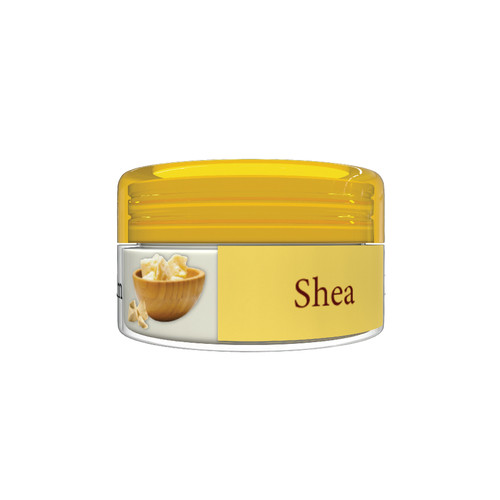 Organic Flavor Lip Balm Jar - Shea - Formulated With Organic Ingredients - Helps Moisturize, Soothe, And Protect Lips- Silicone, Paraben Free For All Skin Types - Made in USA 0.16oz/5gr