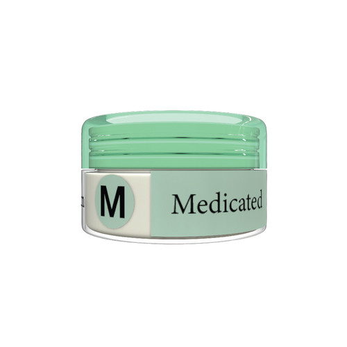 Organic Flavor Lip Balm Jar - Medicated - Formulated With Organic Ingredients - Helps Moisturize, Soothe, And Protect Lips-Silicone, Paraben Free For All Skin Types - Made in USA  0.16oz/5gr