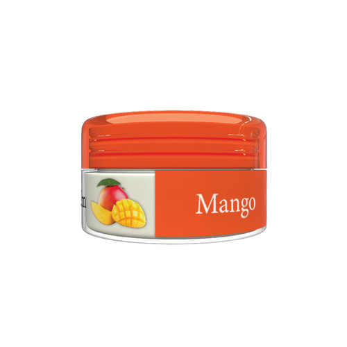 Organic Flavor Lip Balm Jar - Mango - Formulated With Organic Ingredients - Helps Moisturize, Soothe, And Protect Lips-Silicone, Paraben Free For All Skin Types - Made in USA 0.16oz/5gr