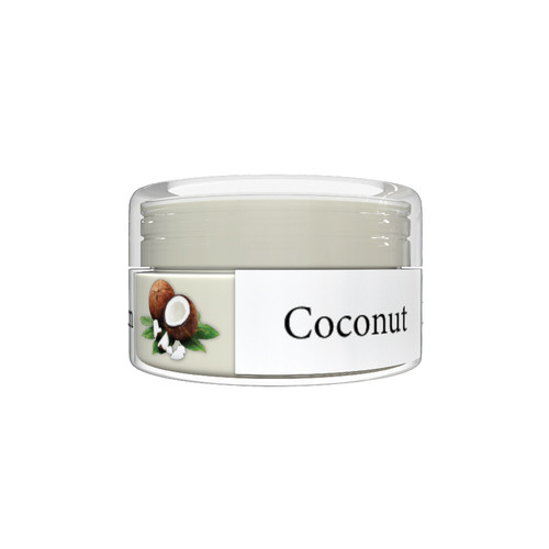 Organic Flavor Lip Balm Jar - Coconut - Formulated With Organic Ingredients - Helps Moisturize, Soothe, And Protect Lips- Silicone, Paraben Free For All Skin Types - Made in USA 0.16oz/5gr